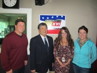 The Money Hour with Tina Mitchell 10/27/13. Aimee Carpenter, Lloyd Hara, & John O'Brein