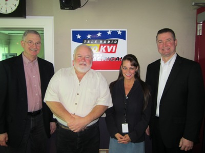 The Money Hour with Tina Mitchell 3/16/14. Andy Landis, Craig Roberts, and Bill Grover.